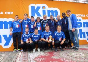 Équipe de Membrey sur le tournoi en 2013