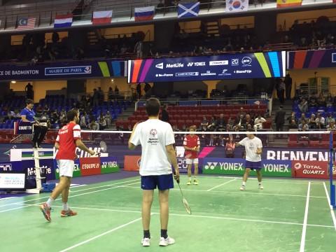 MAGIQUE: deux athlètes Special Olympics en ouverture des finales des Internationaux de France de Badminton