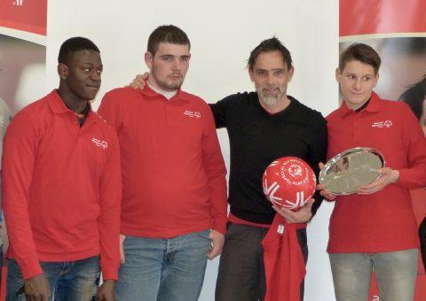 Marco SIMONE devient Ambassadeur de Special Olympics France