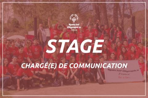 Rejoignez-nous : Stage chargé(e) de communication
