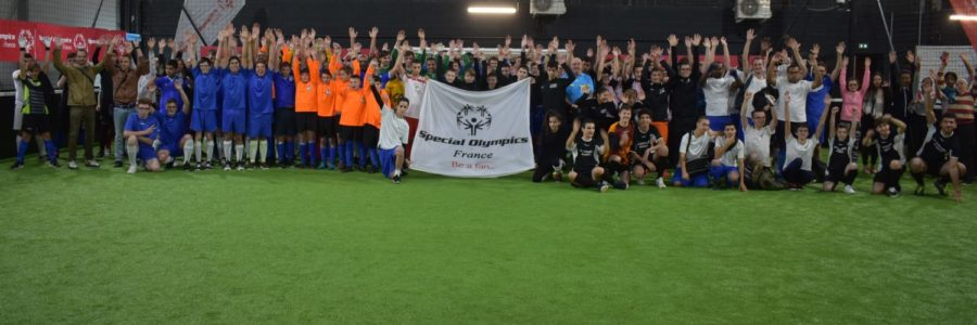 2ème tournoi de futsal Special Olympics Metz 2018
